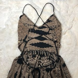 LOVELY DAY | Open Back Maxi Dress